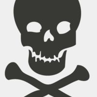Science   skull and crossbones poison symbol Thumbnail