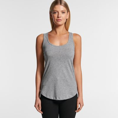 AS Colour Women's Yes Racerback Tank Thumbnail